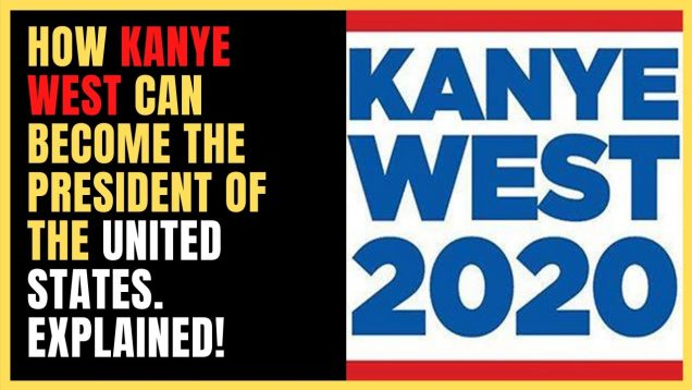 Kanye West For President 2020. Will Kanye West Become The Next President Of The U.S.A?